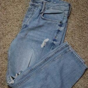 TopShop Hayden Moto Jeans in Size 26